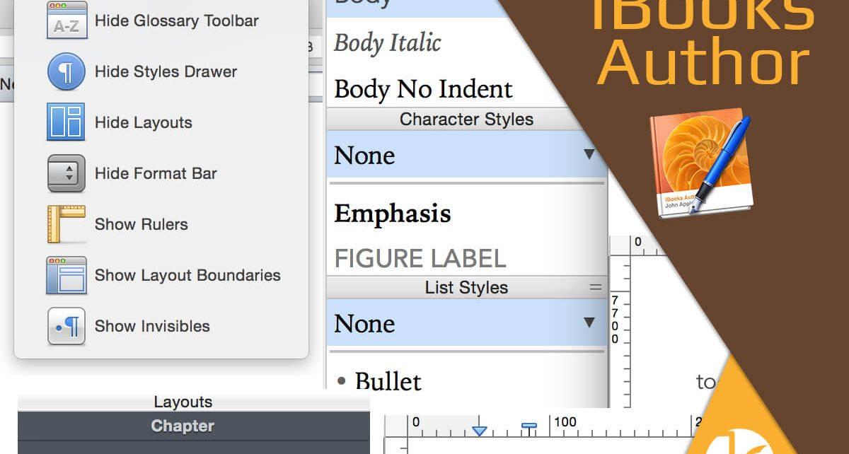 Visualización en iBooks Author