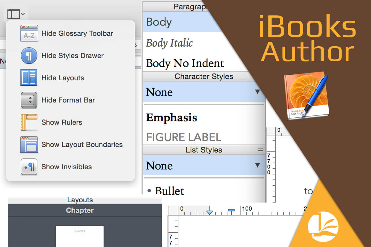 Visualización en iBooks Author
