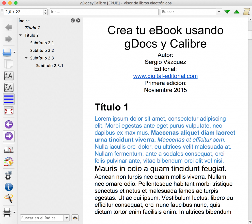 Crear tu eBook usando Google Docs | Publicación Digital | Elabora ...