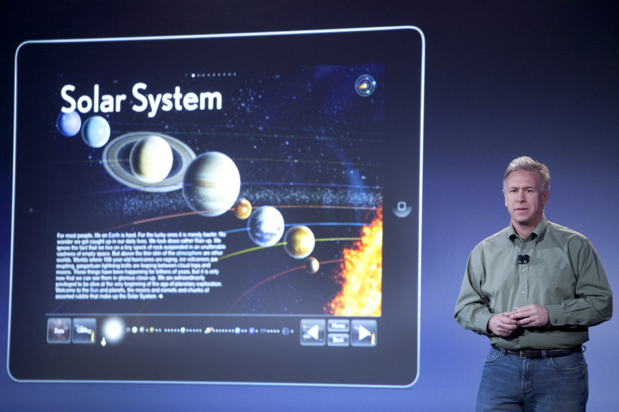 Phil in iBA Keynote