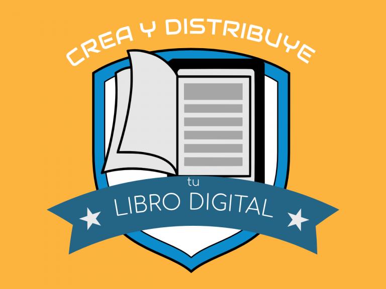 Crea y Distribuye tu Libro Digital Logo Naranja